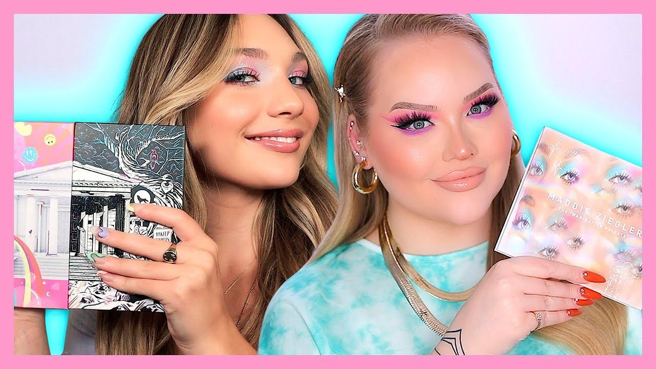 Get Glam With MADDIE ZIEGLER & Me! | NikkieTutorials