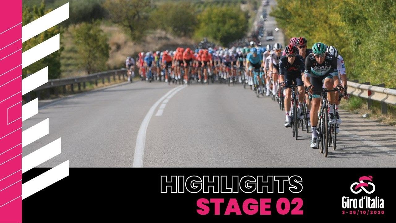 Giro d'Italia 2020 | Highlights | Stage 2