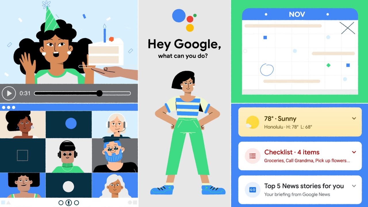 Google Assistant features on Android
