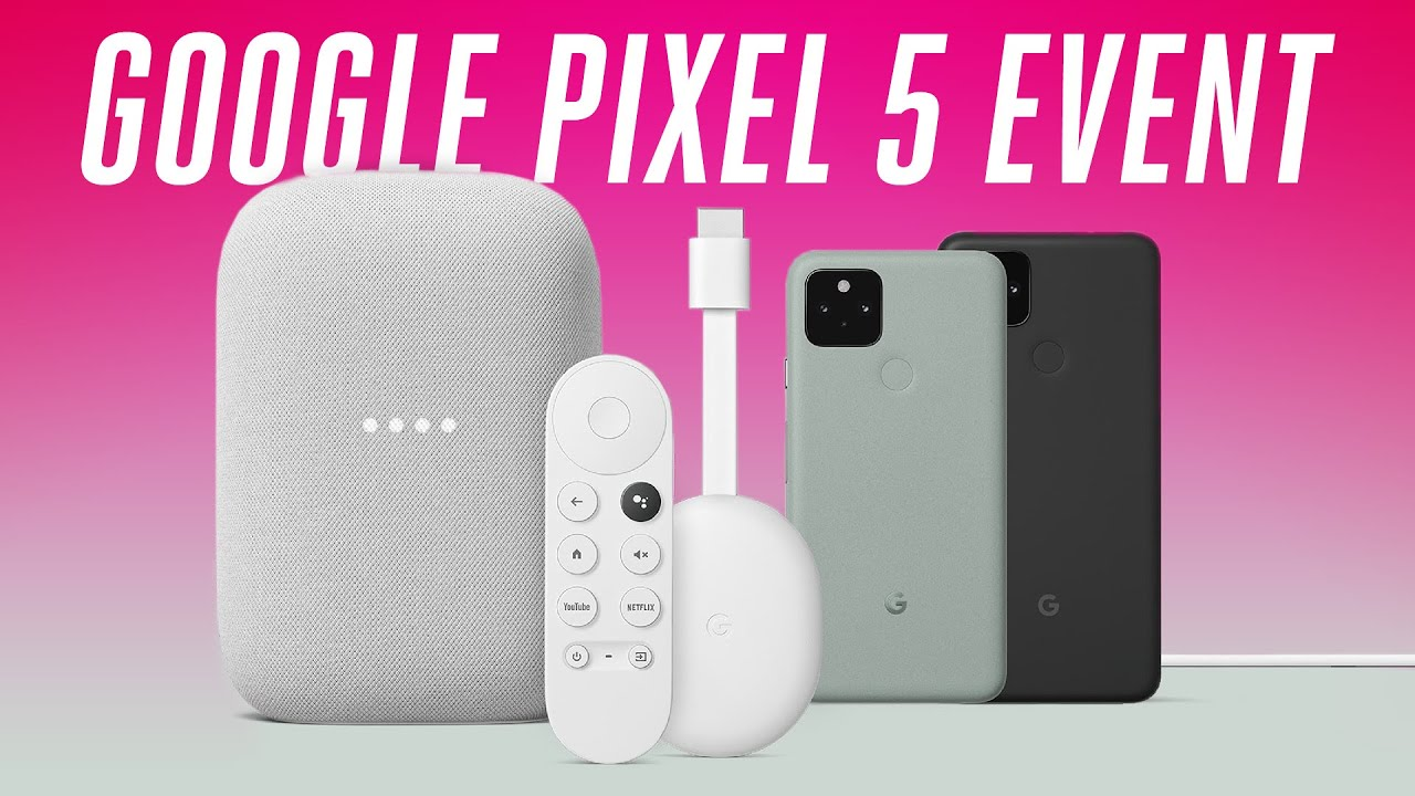 Google Pixel 5 Event in 6 minutes