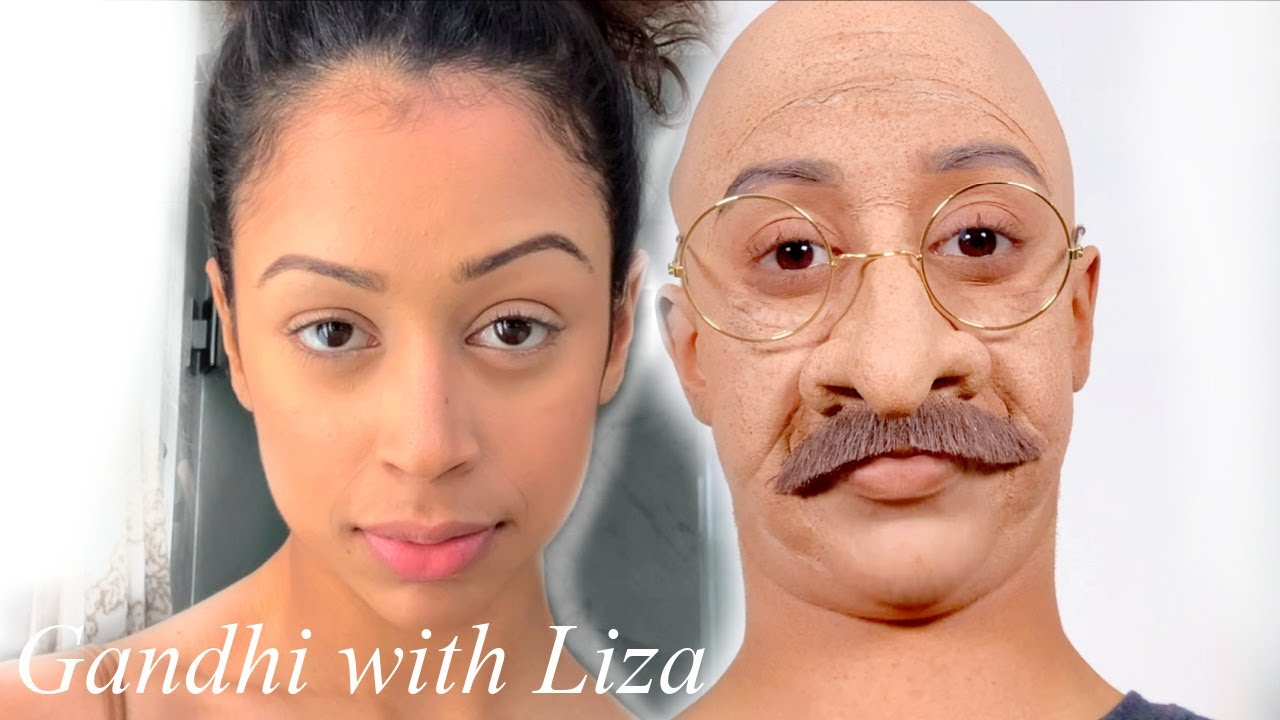 HALLOWEEN TRANSFORMATION • OH MY Gandhi WITH LIZA