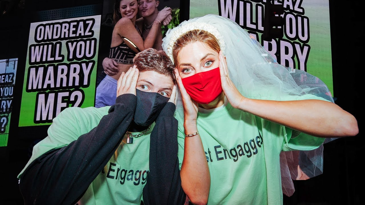 HANNAH STOCKING AND ONDREAZ LOPEZ ARE ENGAGED?!