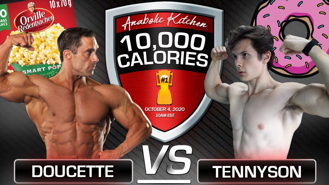 HERE IT IS! || 10,000 Calorie Anabolic Kitchen CHALLENGE! || Coach Greg VS Will Tennyson