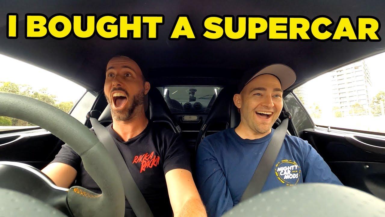 I Bought a SUPERCAR!