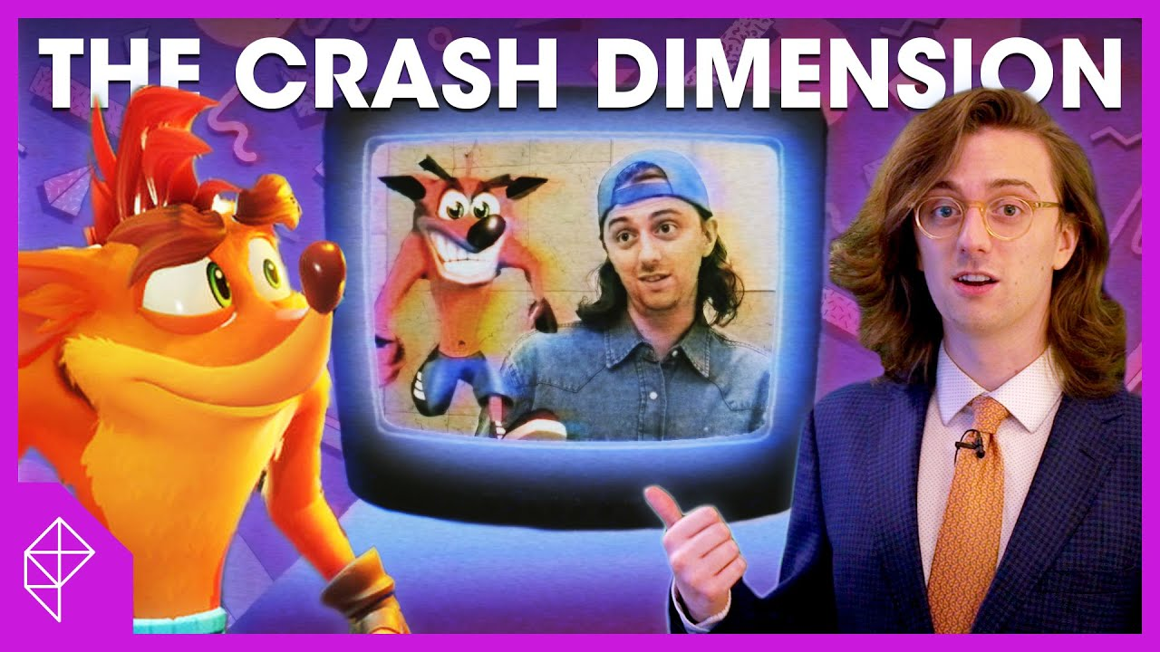 I made a '90s dimension to fully understand Crash Bandicoot | Unraveled