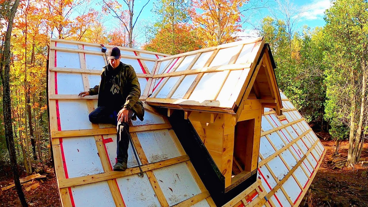 Insulating on TOP of the Cabin Roof…but why? / Log Cabin Update- Ep 13.15