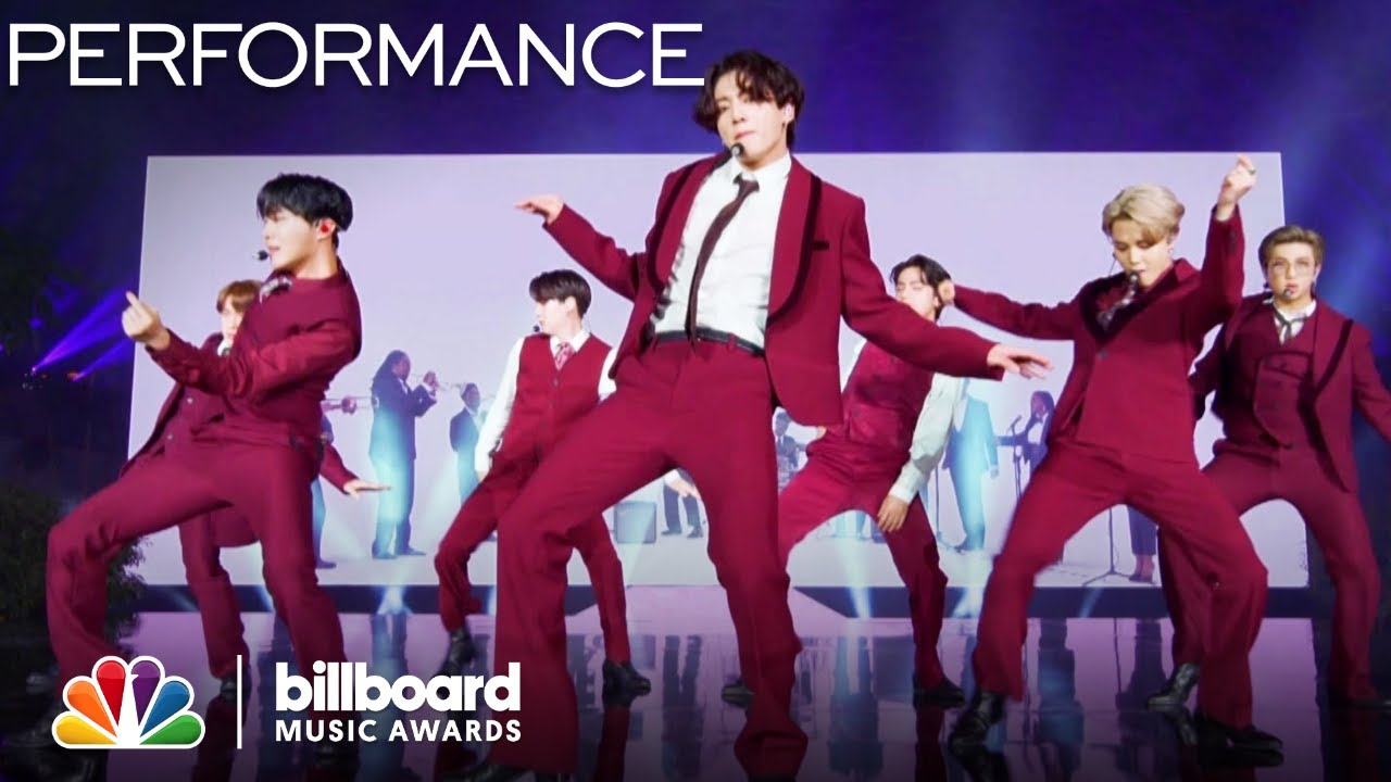"International Sensation BTS Performs ""Dynamite"" – The 2020 Billboard Music Awards"