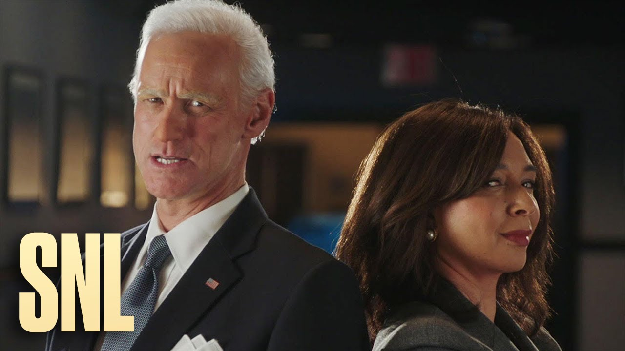 Jim Carrey and Maya Rudolph Transform into Joe Biden and Kamala Harris – SNL