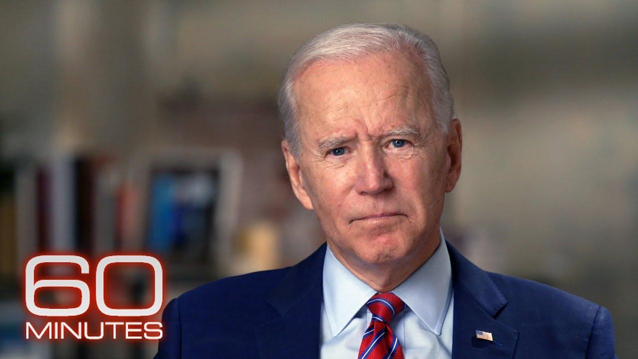 Joe Biden: The 60 Minutes 2020 Election Interview