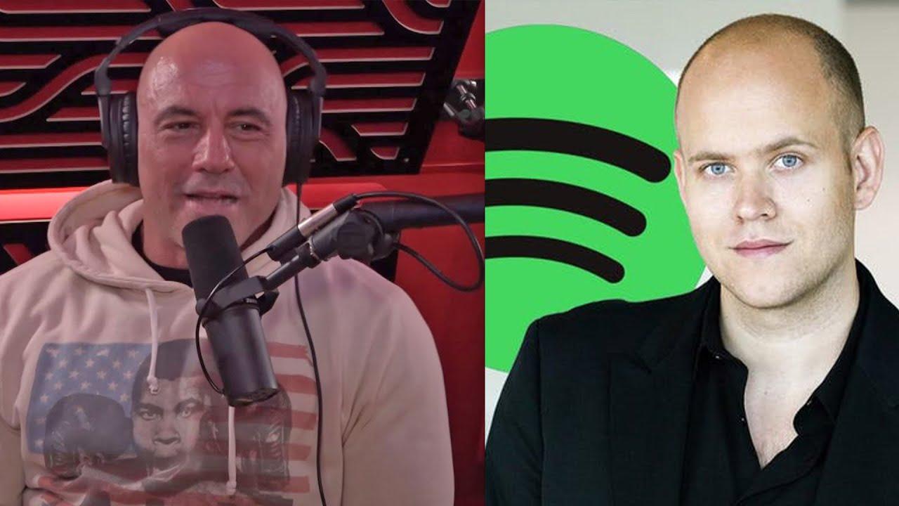 Joe Rogan Mocks Spotify Employees Who Want Him Fired