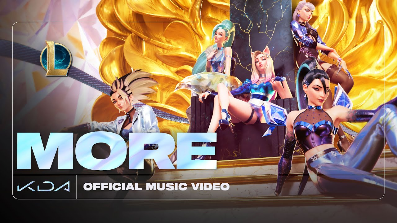 K/DA – MORE ft. Madison Beer, (G)I-DLE, Lexie Liu, Jaira Burns, Seraphine (Official Music Video)