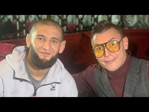 Khamzat Chimaev Spoke to Darren Till Yesterday..