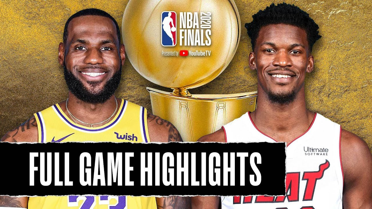 LAKERS at HEAT | FULL GAME HIGHLIGHTS | October 6, 2020