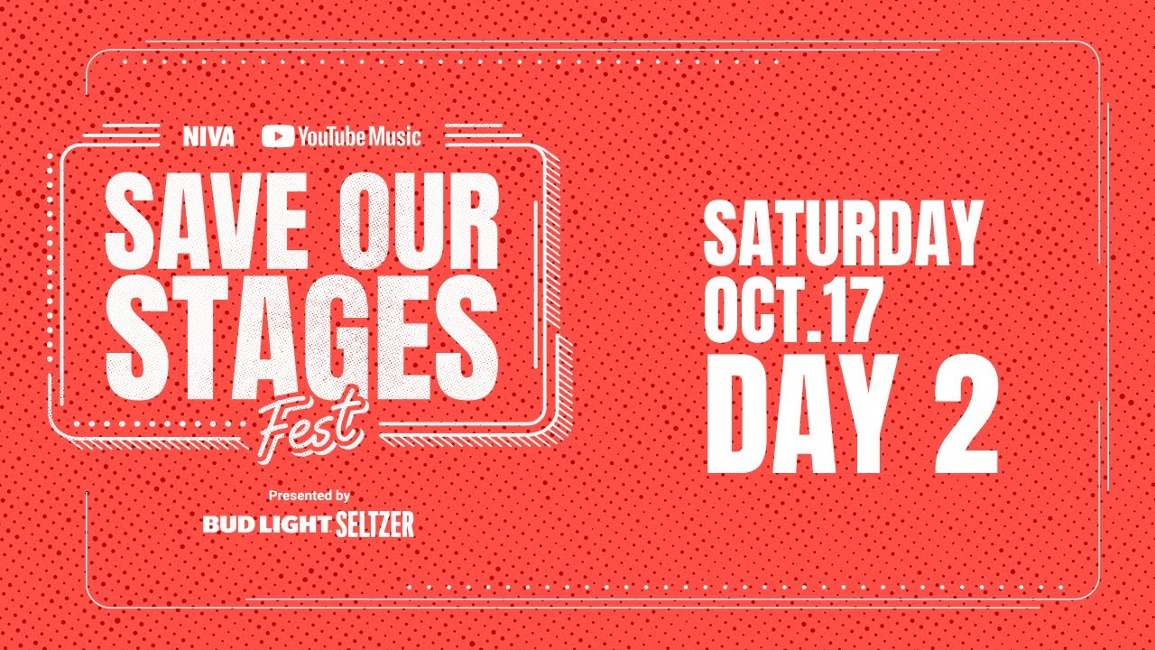 Live stream: Save Our Stages Fest Day 2