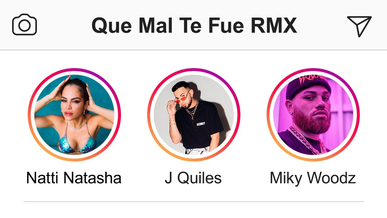 "Natti Natasha – Que Mal Te Fue ""Remix"" ft. J Quiles, Miky Woodz [Official Video]"