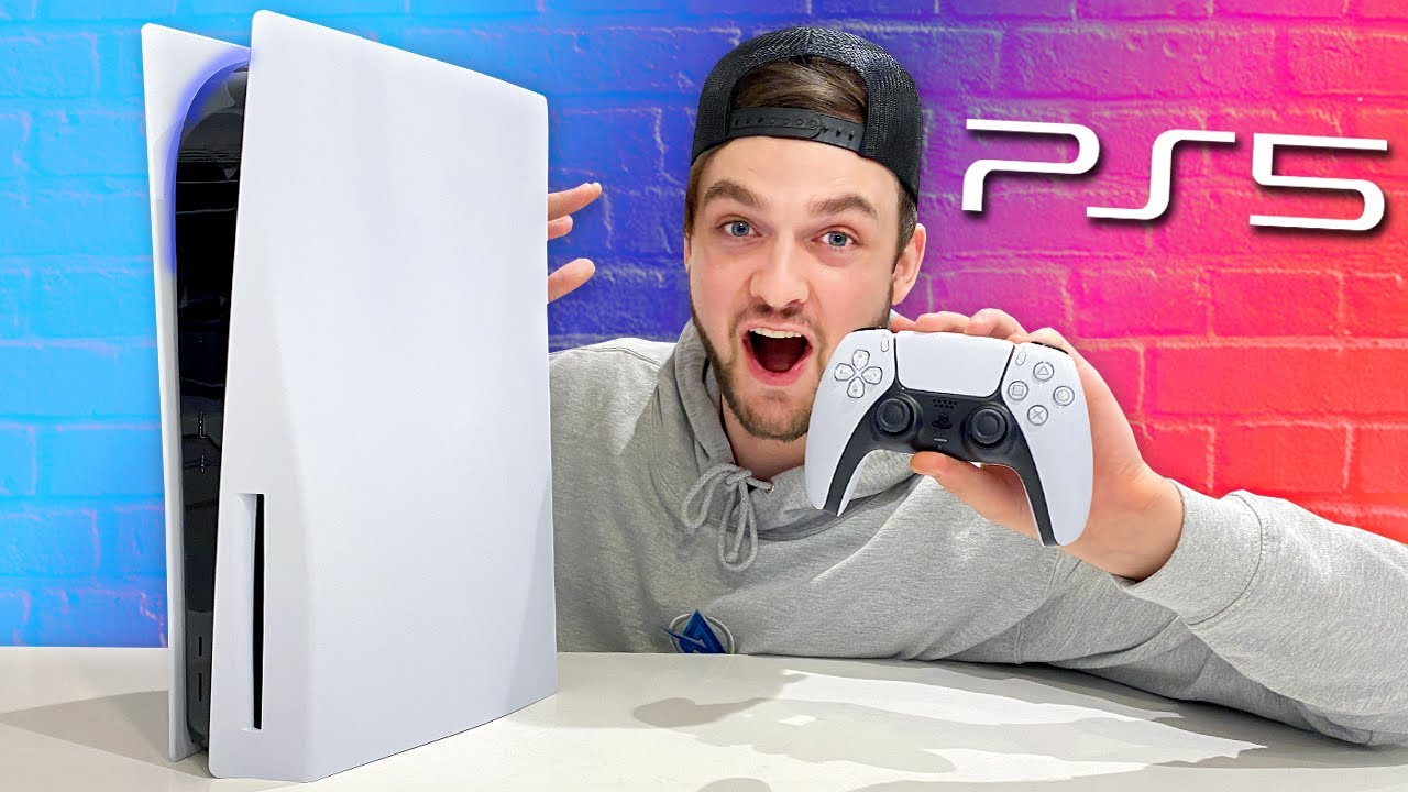 Sony PS5 Unboxing – The Beast is HERE