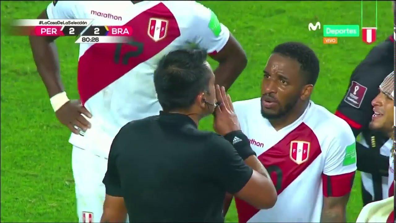 Perú vs Brasil: la POLÉMICA del penal de Zambrano a Neymar   Clasificatorias Qatar 2022
