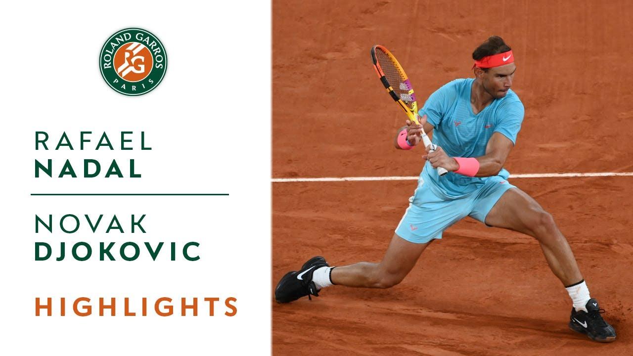 Rafael Nadal vs Novak Djokovic – Final Highlights I Roland-Garros 2020