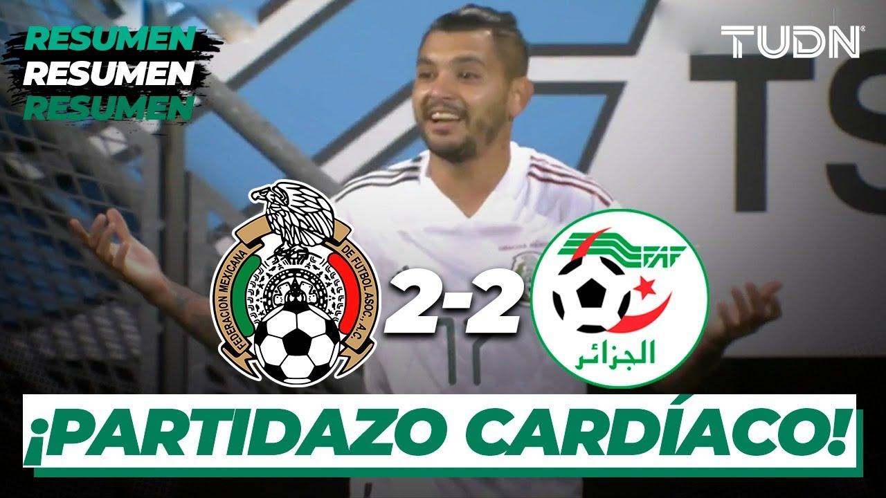 Resumen y goles | México vs Argelia | Amistoso 2020 | TUDN