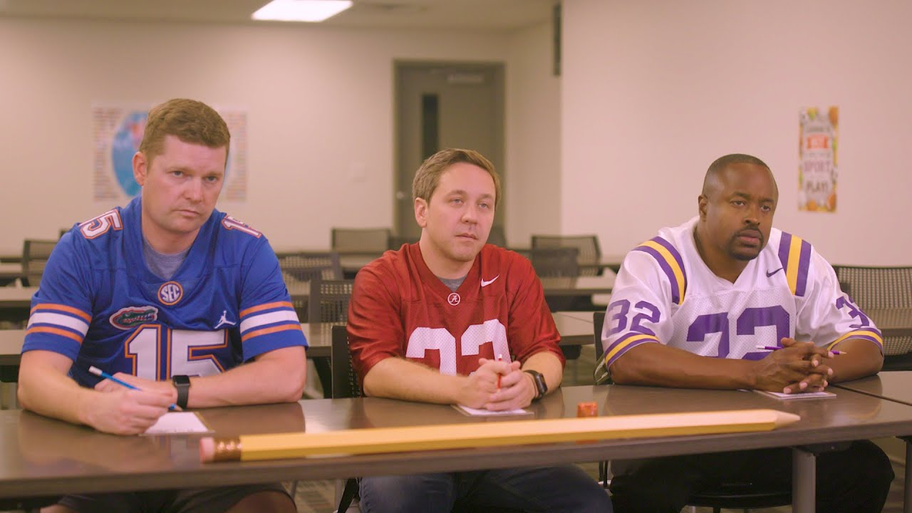 SEC Shorts – Alabama, Florida, and LSU are forced to attend after-school defensive tutoring