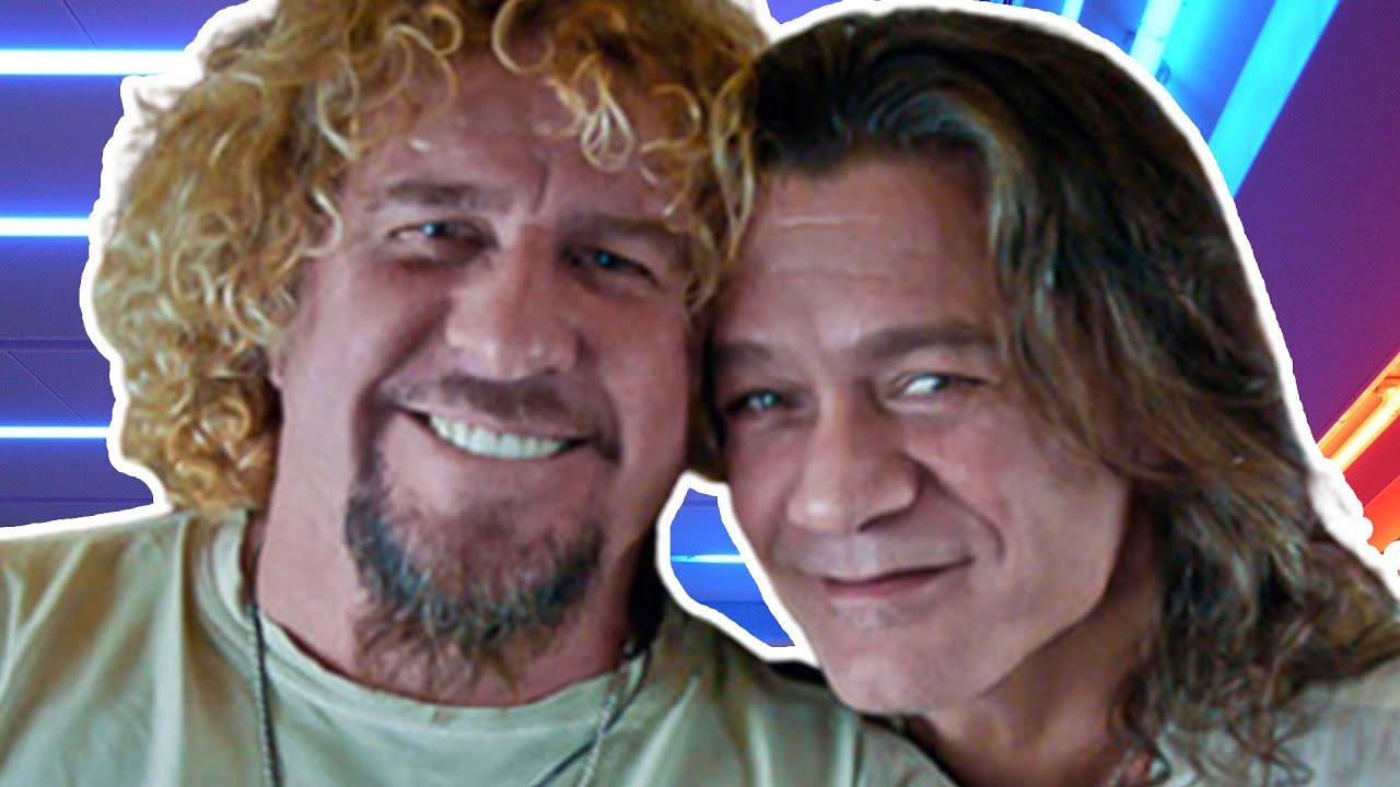 Sammy Hagar Reveals He Secretly Made Peace With Eddie Van Halen Several Months Ago
