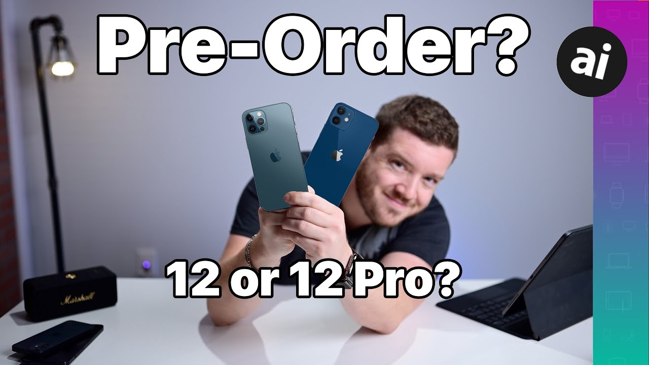Should You Preorder iPhone 12 OR iPhone 12 Pro?! Compared!