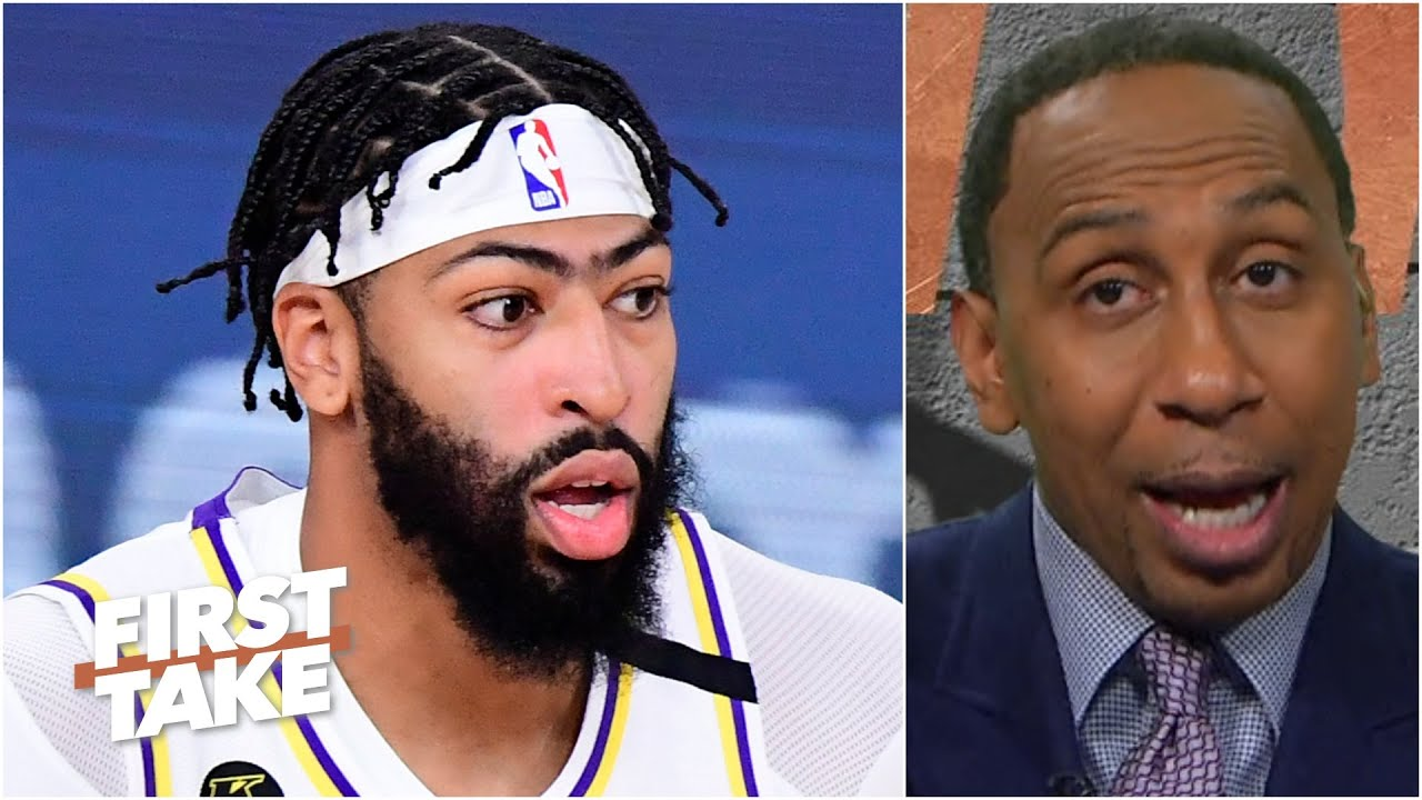 Stephen A. blames Anthony Davis for the Lakers' Game 3 loss vs. the Heat in the Finals | First Take