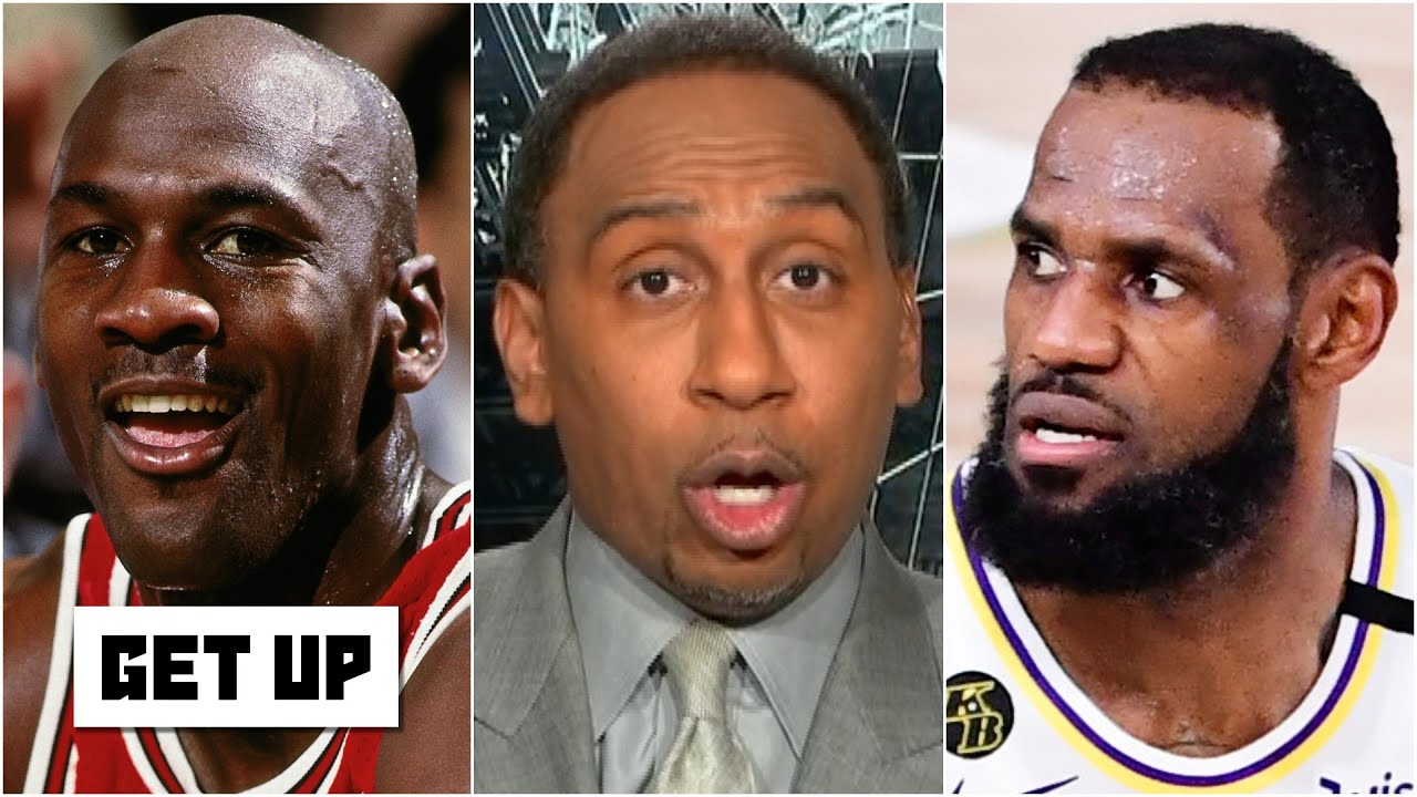 Stephen A. to LeBron: 'Consider yourself disrespected … you'll never be my No. 1' over MJ | Get Up