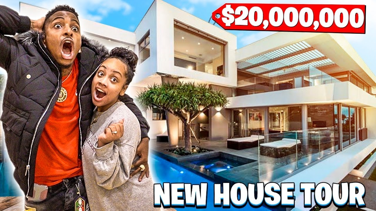 THE MJ FAMILY OFFICIAL NEW HOUSE TOUR!!