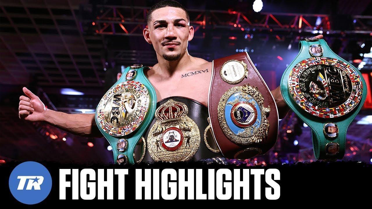 Teofimo Lopez Upsets Vasiliy Lomachenko to become Undisputed Lightweight Champion | FIGHT HIGHLIGHTS