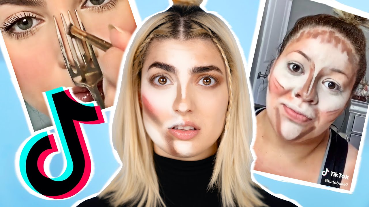 Trying EVERY Viral TikTok Makeup Life Hack In 1 Video!
