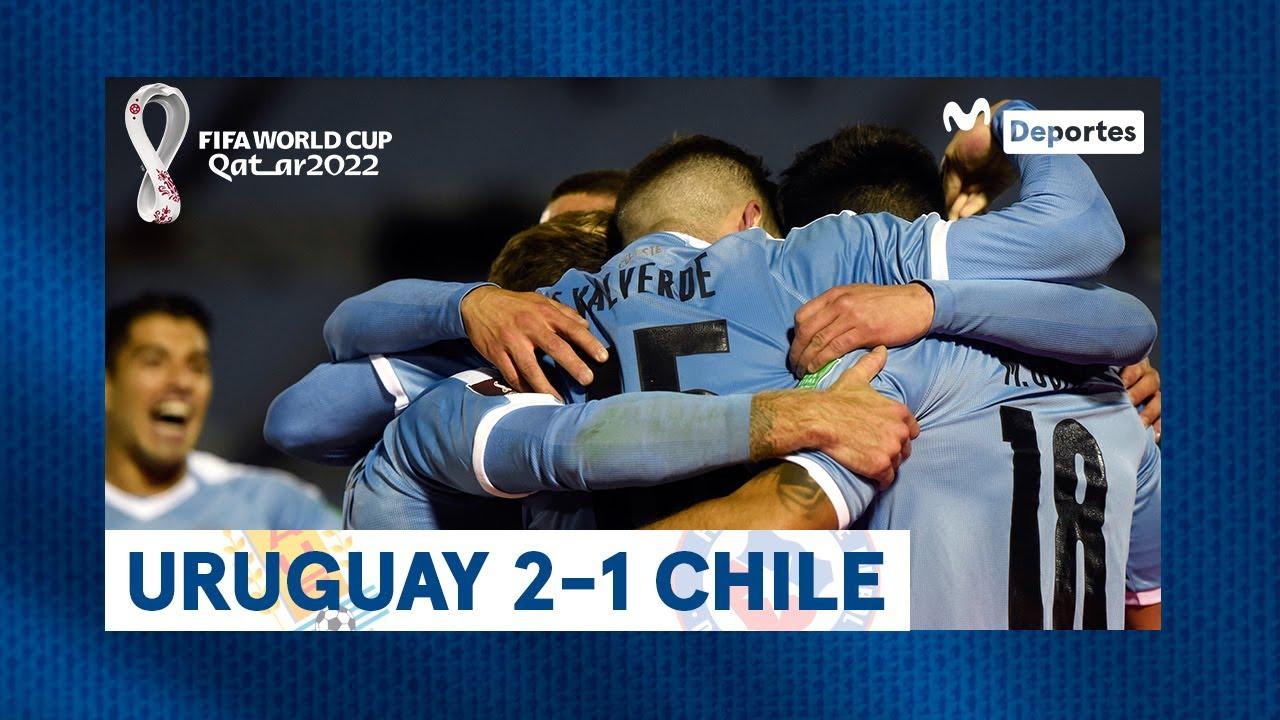 URUGUAY 2-1 CHILE: Resumen y GOLES del partido en Montevideo | Clasificatorias Qatar 2022