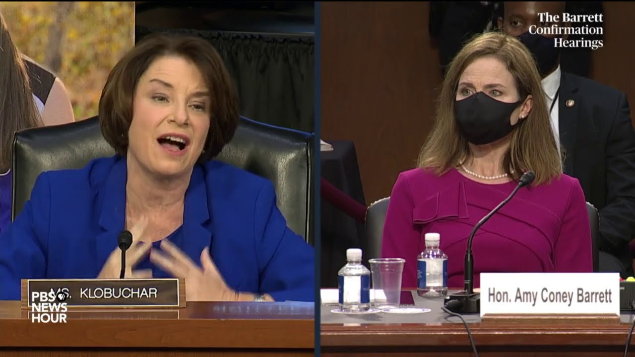WATCH: Sen. Amy Klobuchar's full opening statement in Barrett Supreme Court confirmation hearing