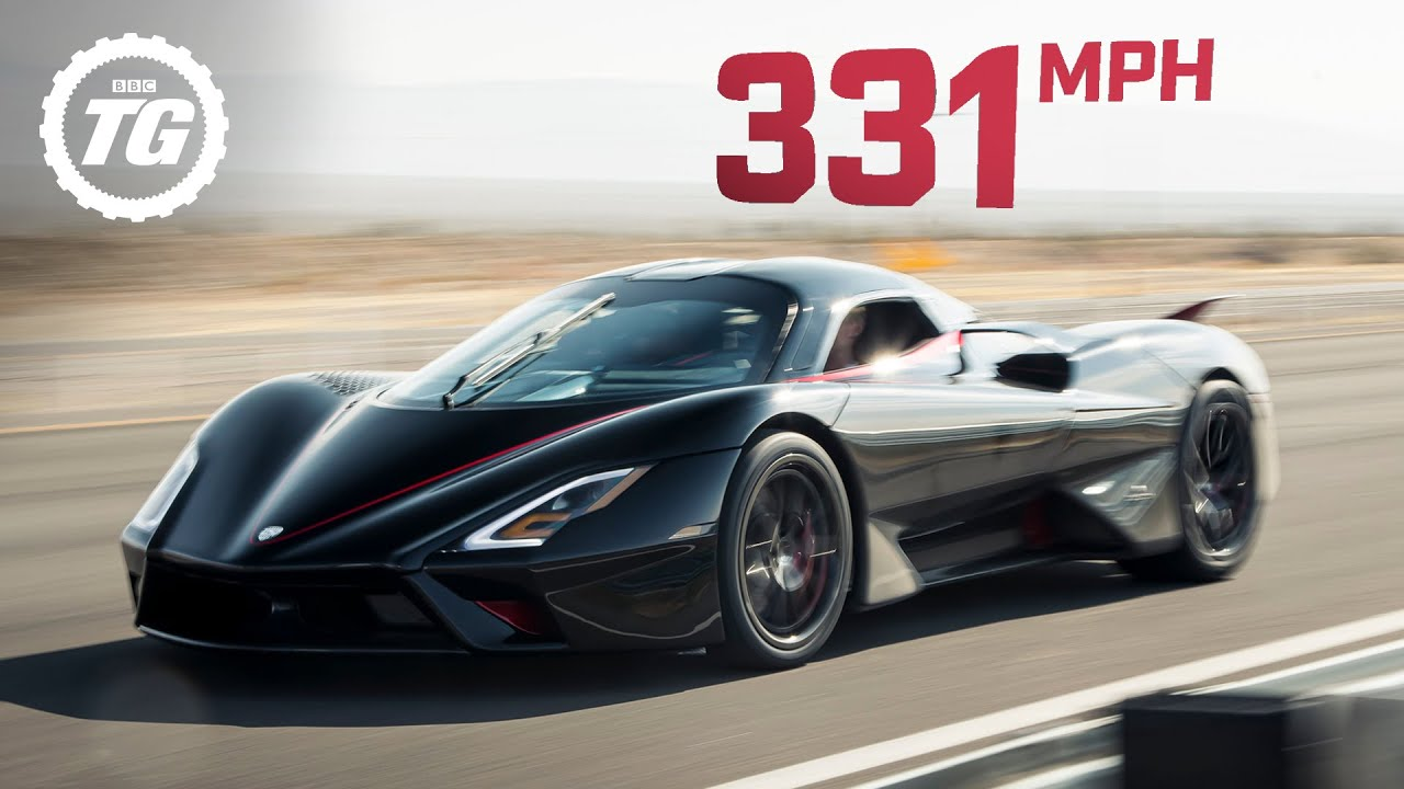 WORLD'S FASTEST ONBOARD: SSC Tuatara hits crazy 331mph top speed!   Top Gear
