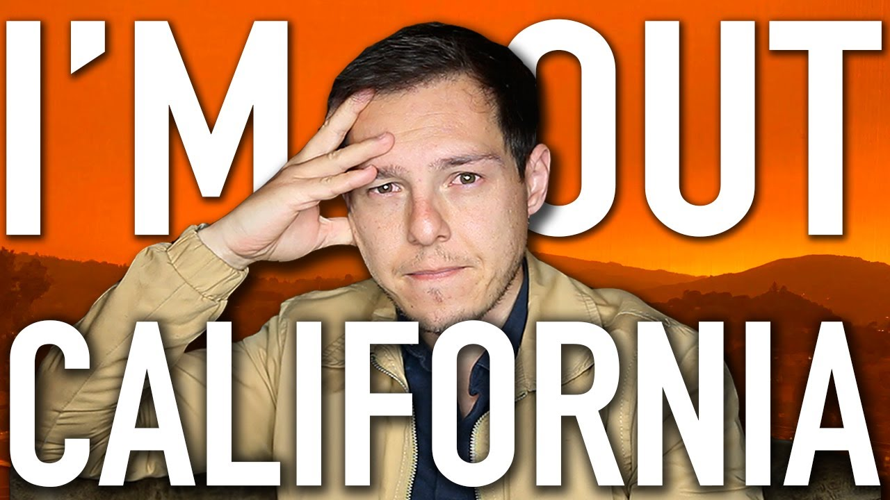 Why I'm Leaving California