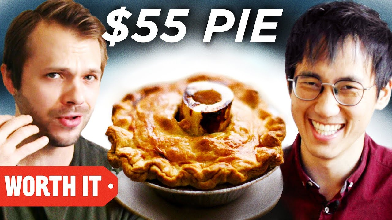 $1 Savory Pie Vs. $55 Savory Pie
