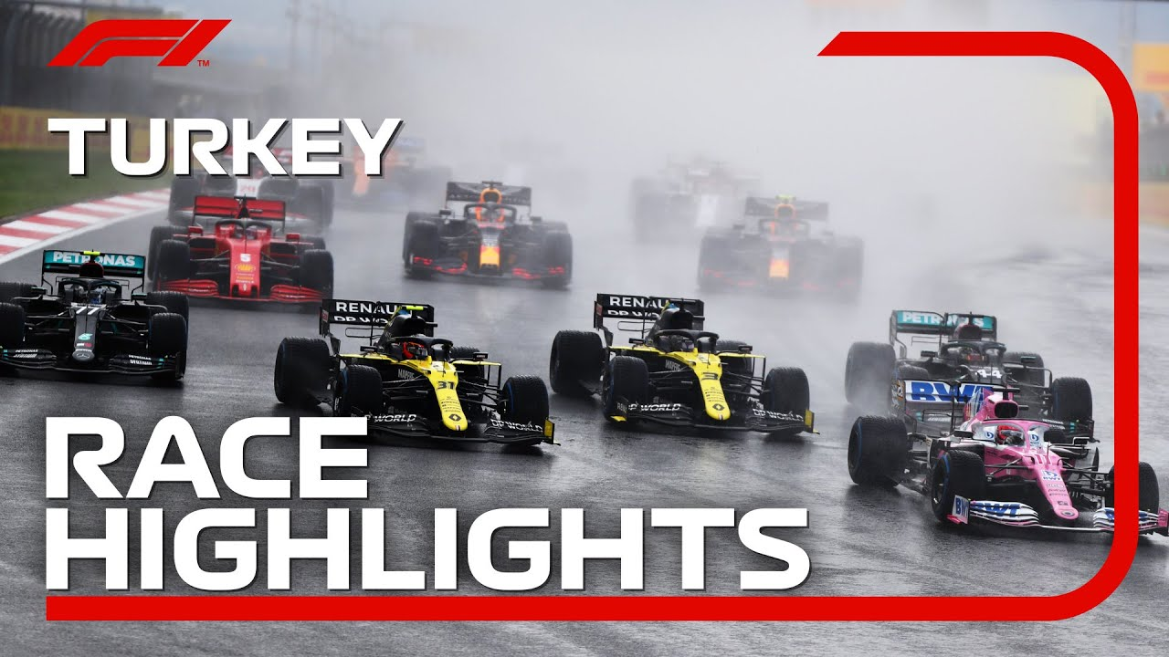 2020 Turkish Grand Prix: Race Highlights