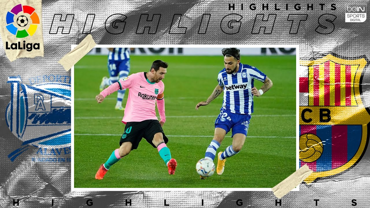Alavés 1 – 1 Barcelona – HIGHLIGHTS & GOALS – (10/31/2020)