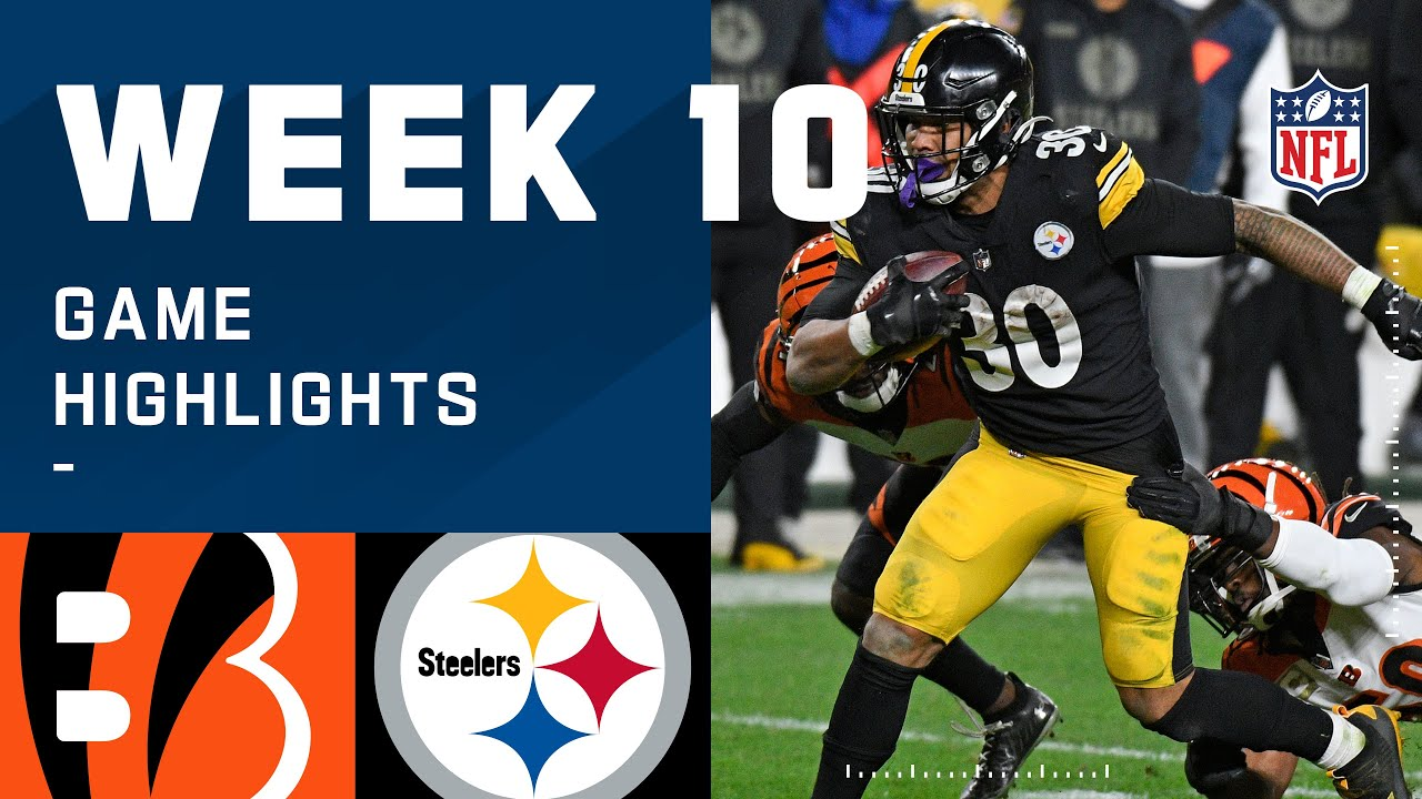 Bengals vs. Steelers Week 10 Highlights | NFL 2020