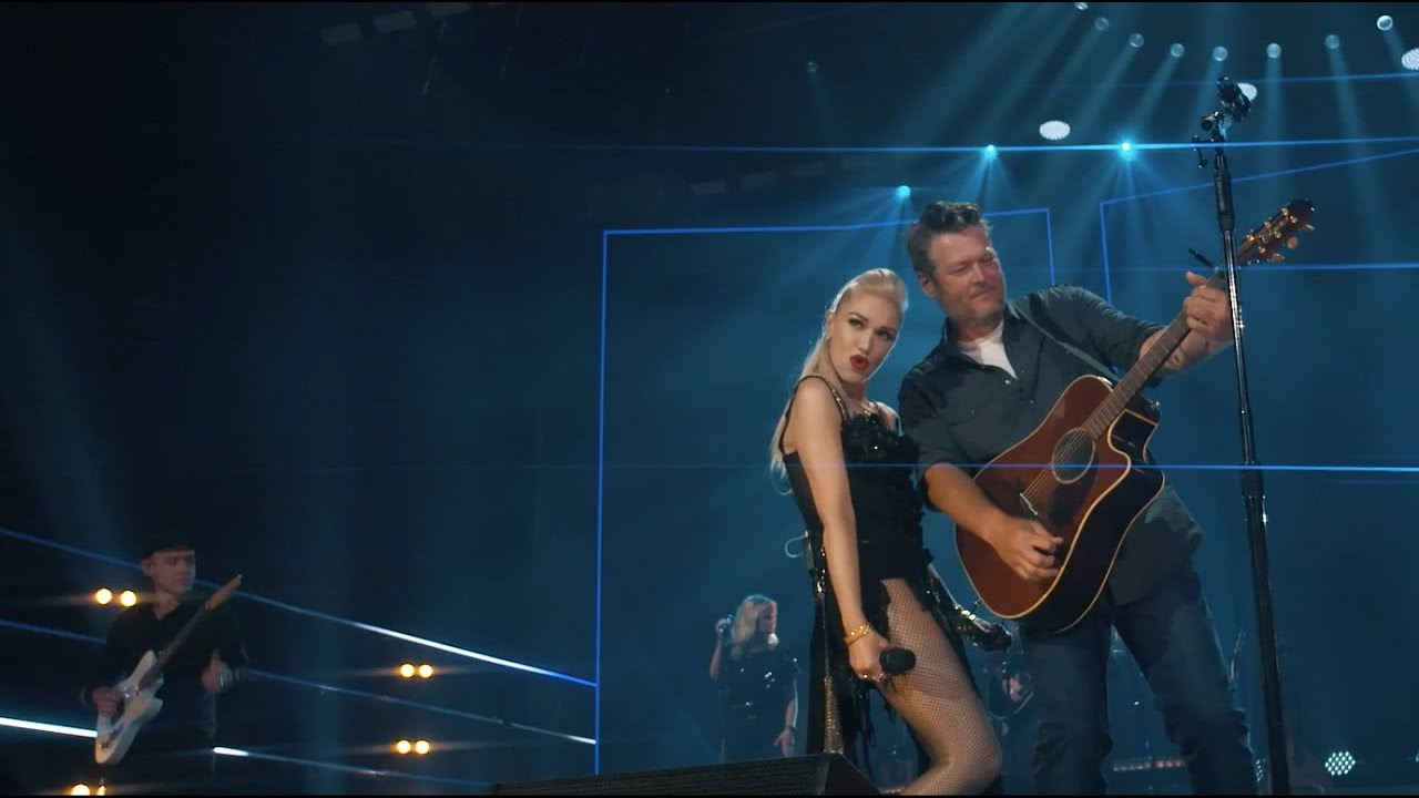 Blake Shelton – Happy Anywhere (feat. Gwen Stefani) (Live)
