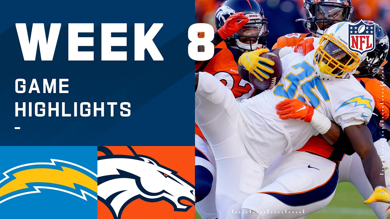 Chargers vs. Broncos Week 8 Highlights   NFL 2020