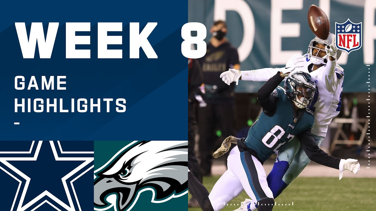 Cowboys vs. Eagles Week 8 Highlights | NFL 2020