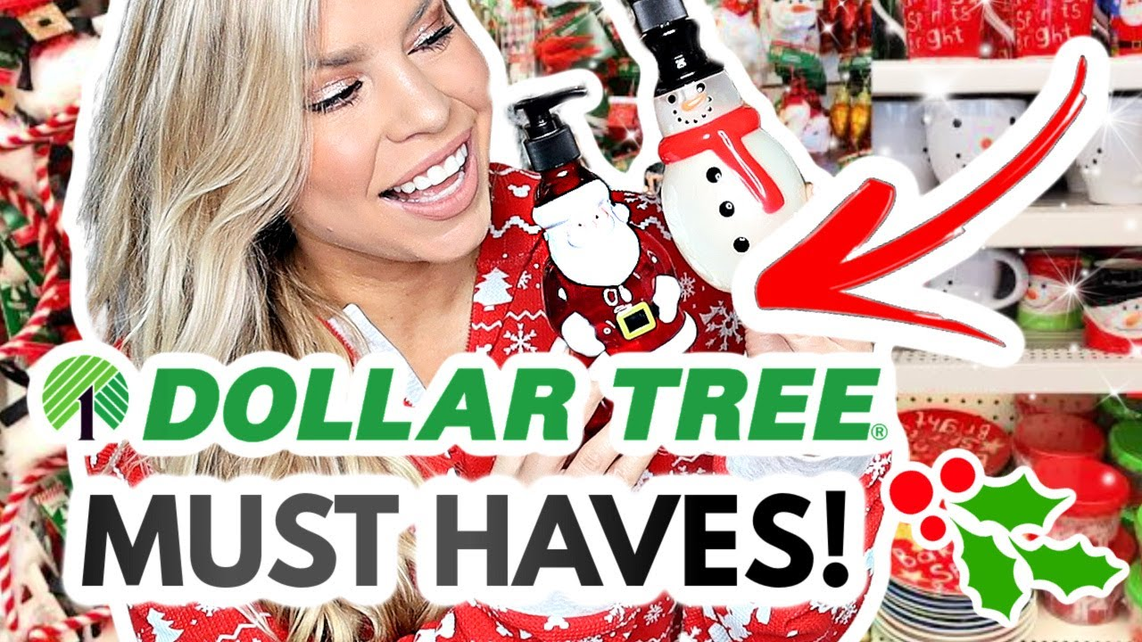 DOLLAR TREE PRODUCTS YOU NEED IN YOUR LIFE! (Christmas 2020! 🎅)