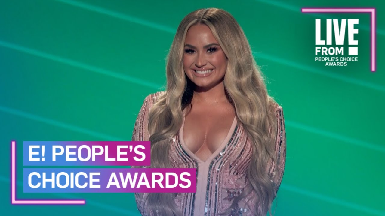 Demi Lovato's 2020 People's Choice Awards Opening Monologue | E! People's Choice Awards