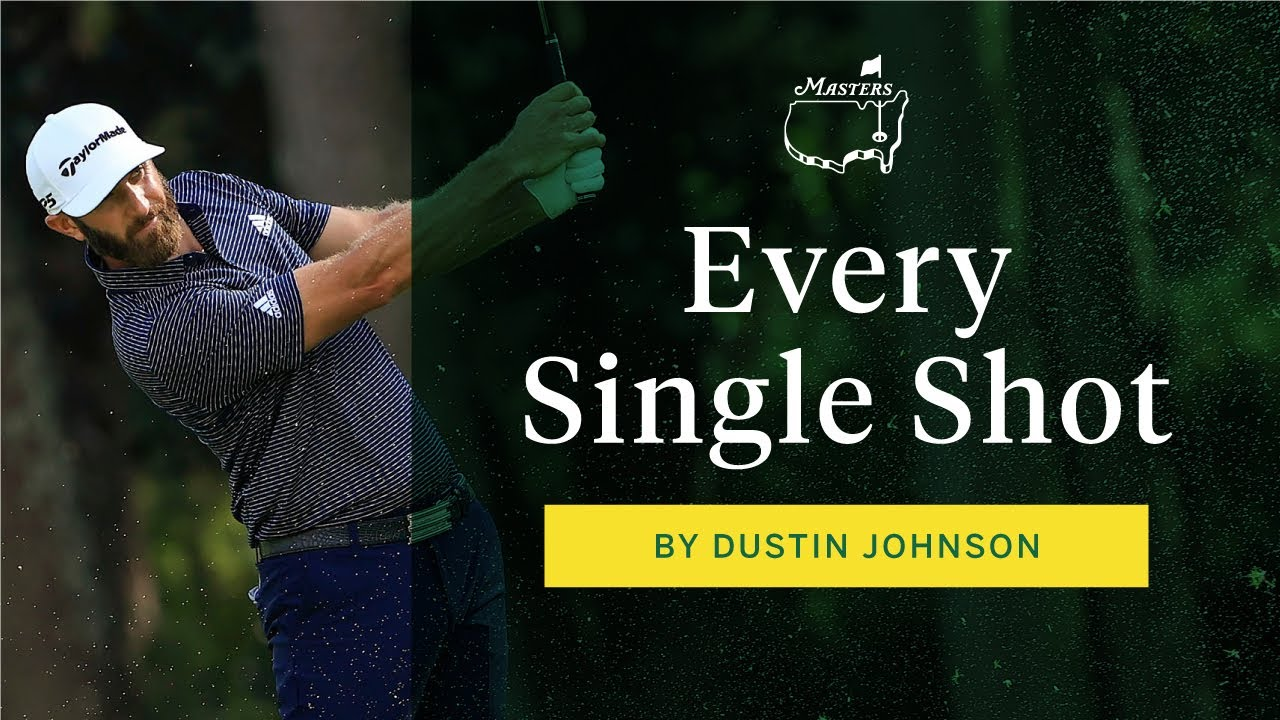 Every Shot From Dustin Johnson's Final Round | The Masters