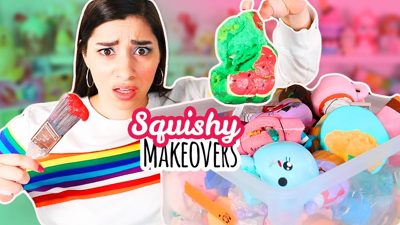 "Fixing The UNFIXABLE: Squishy Makeovers from ""The Hopeless Bin"""