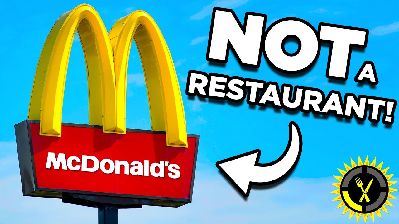 Food Theory: McDonald's is NOT a Restaurant!