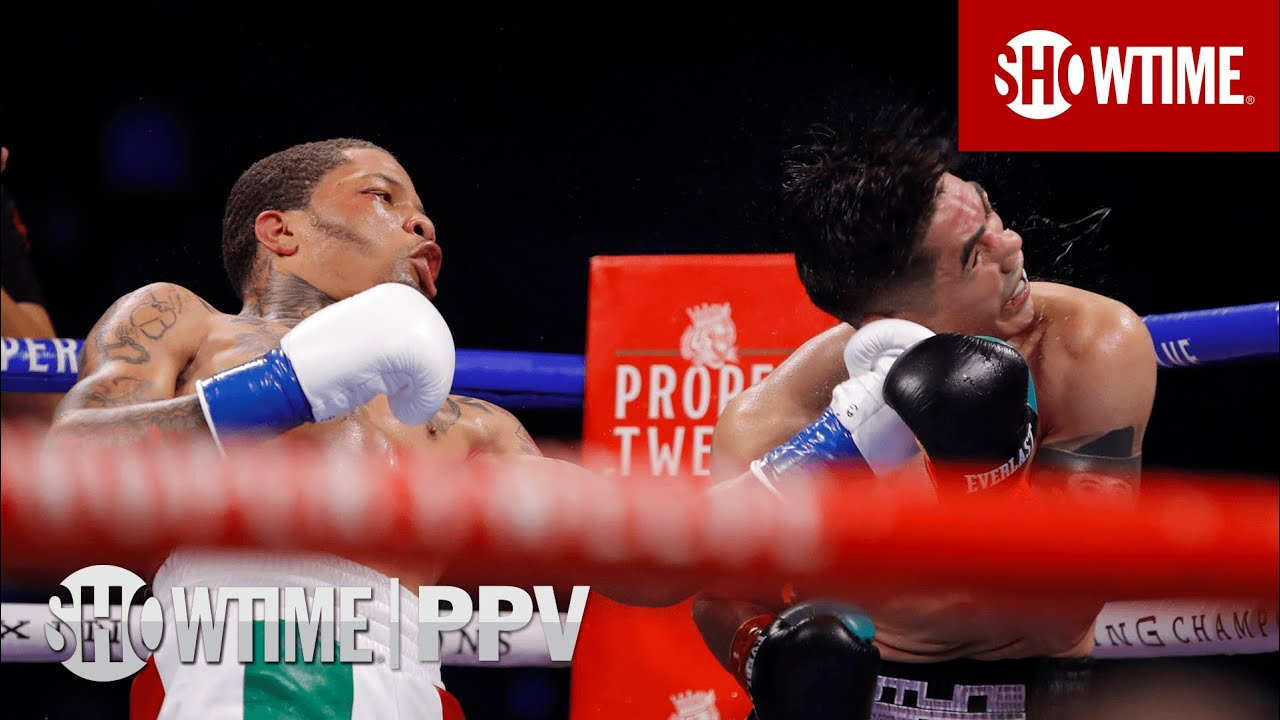 Gervonta Davis KOs Leo Santa Cruz With Vicious Uppercut | SHOWTIME PPV