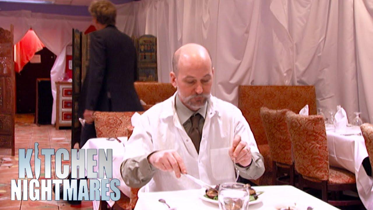 Gordon Makes Chef Eat His Own Food   Kitchen Nightmares