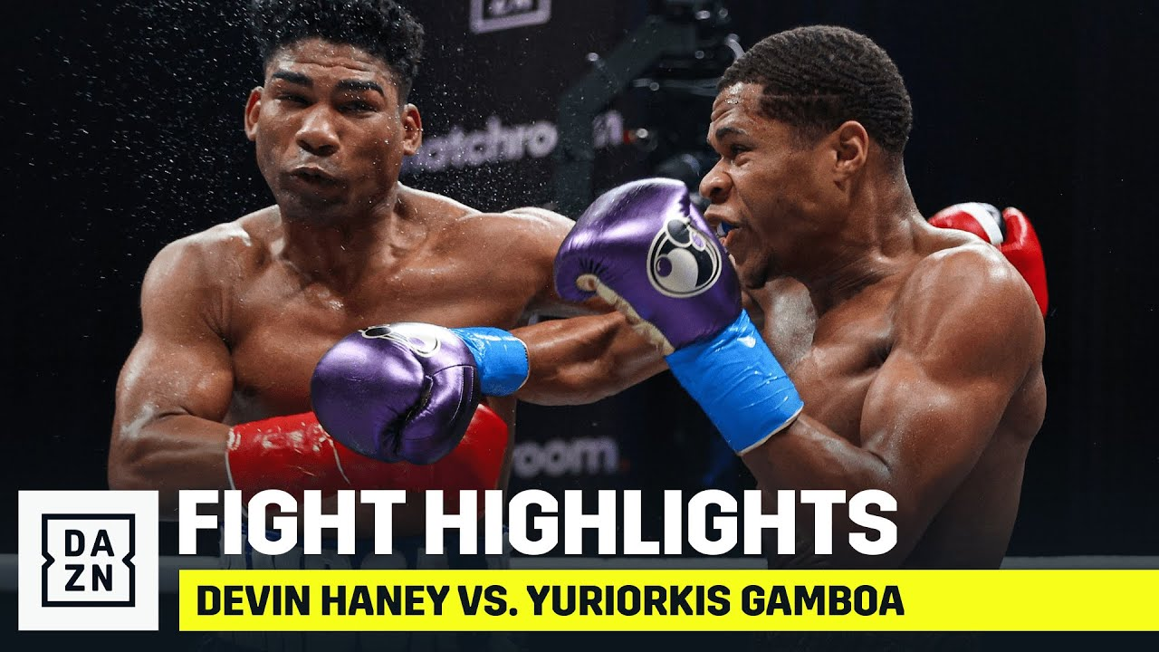 HIGHLIGHTS | Devin Haney vs. Yuriorkis Gamboa